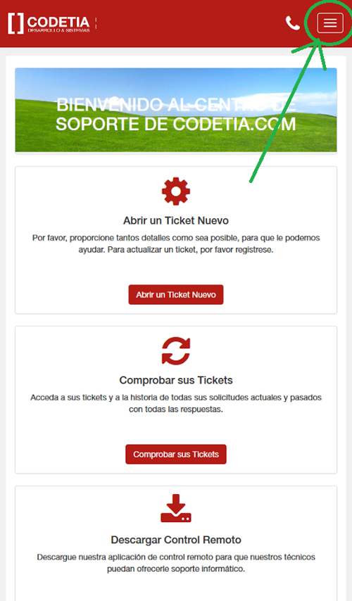 FAQ - Sistema de Tickets Codetia