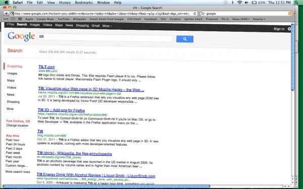 tilt-google