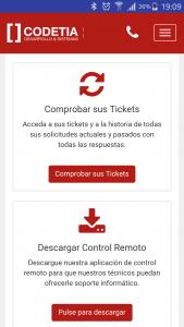 Galeria app codetia Sorporto informatico