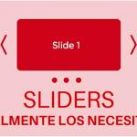 Los sliders y la usabilidad web
